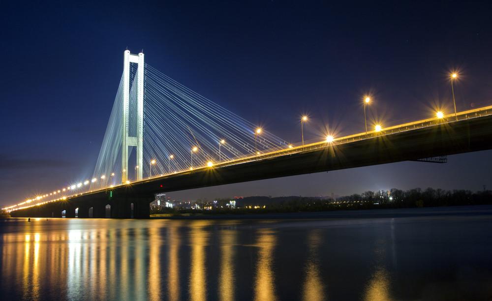 Картинка сургута моста двигающие